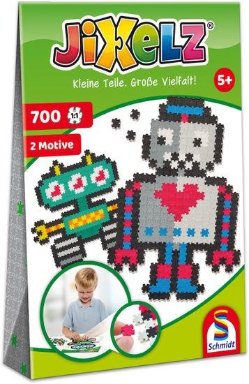 JIXELZ Roboter, 700 Teile