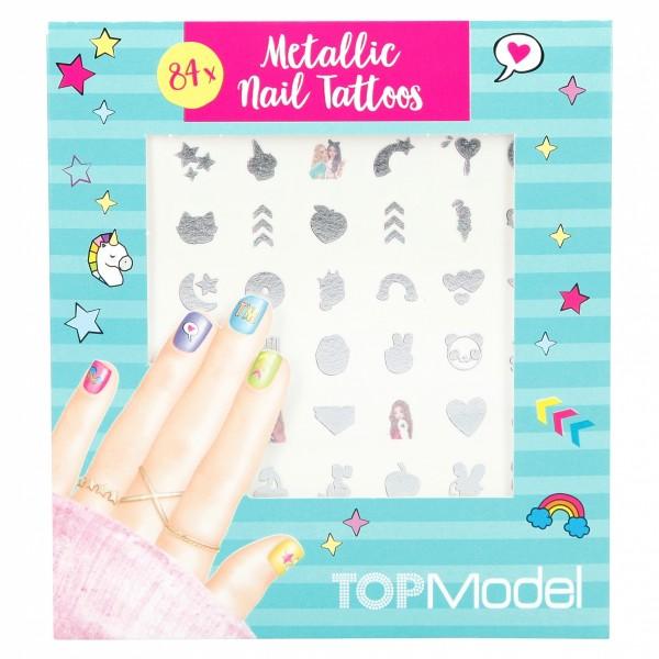 TOPModel Nail Tattoos
