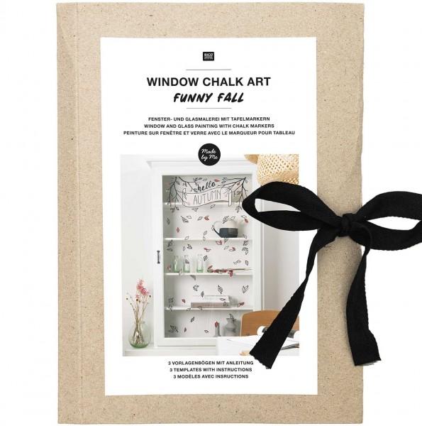 Vorlagenmappe Fenster- und Glasmalerei Funny Fall