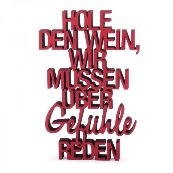 NOGALLERY Hole den Wein... - grau