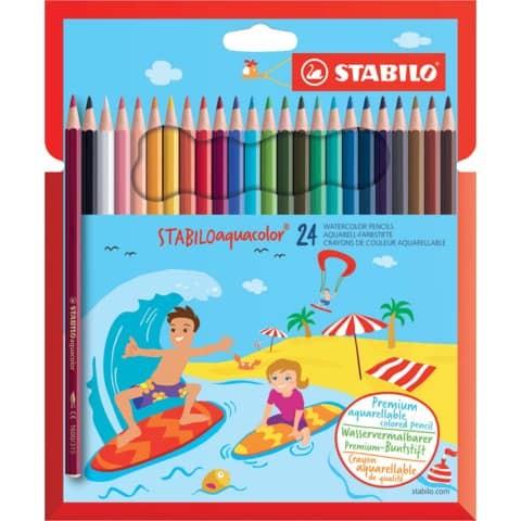 Farbstifte Aqua Color 24 Stifte