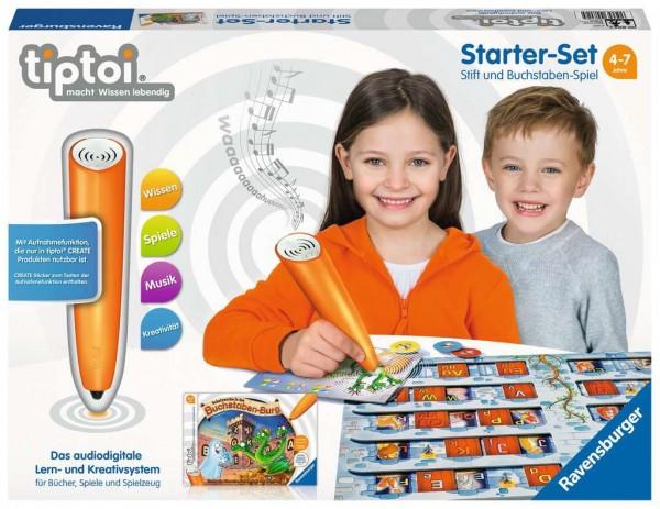 Starter-Set: Stift und Buchstaben-Spiel