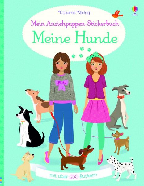 Fiona Watt, Mein Anziehpuppen-Stickerbuch: Meine Hunde