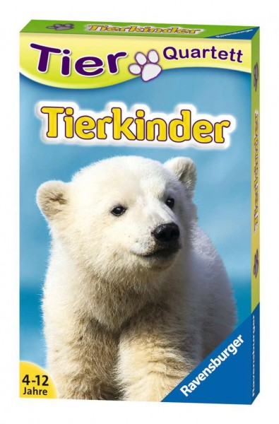 Tier Quartett Tierkinder