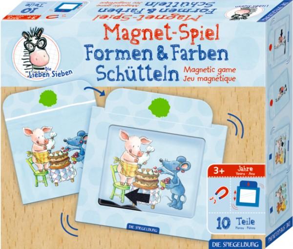 Die Lieben Sieben Magnetspiel Formen & Farben Schütteln