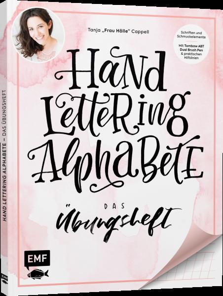 HANDLETTERING ALPHABETE – DAS ÜBUNGSHEFT