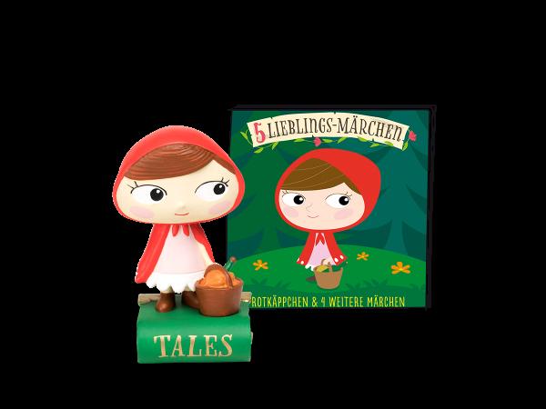 Lieblings-Märchen - Rotkäppchen und 4 weitere Märchen
