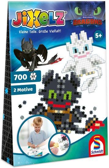 JIXELZ Dragons, 700 Teile