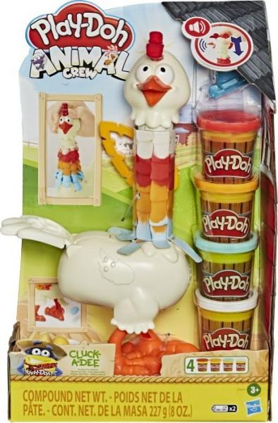 Play-Doh Verrücktes Huhn, Bauernhof-Spielset
