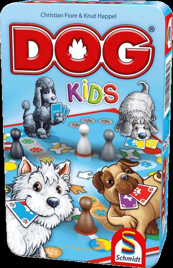 DOG® Kids, Bring-Mich-Mit-Spiel in Metalldose