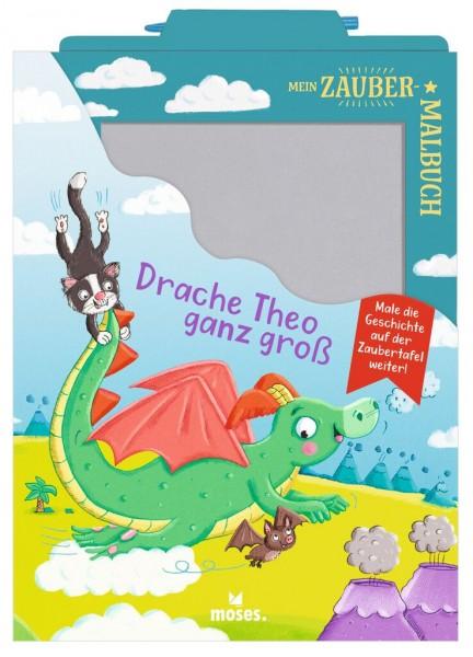 Mein Zaubermalbuch - Drache Theo ganz groß