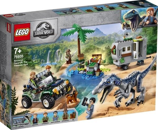 LEGO® Jurassic World 75935 Baryonyx Kräftemessen: die Schatzsuche