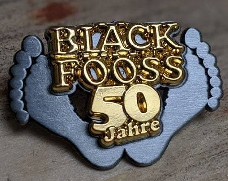 Jubiläums-Pin 50 Jahre Bläck Fööss