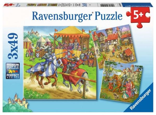 Rittertunier im Mittelalter (3x49 Teile)