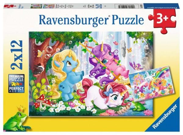 Puzzle Magische Einhornwelt (2x12 Teile)