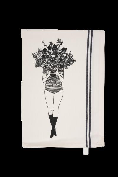 Geschirrhandtuch flower girl