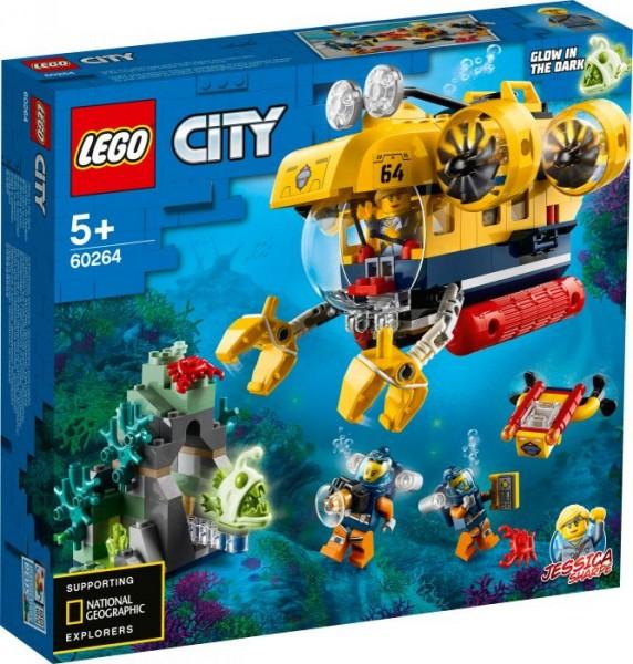 LEGO® City 60264 Meeresforschungs-U-Boot