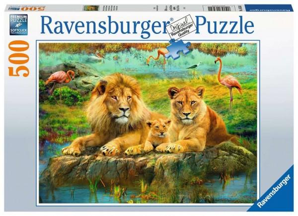 Löwen in der Savanne