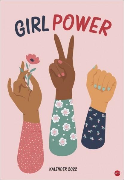 Girl Power - Posterkalender 2022