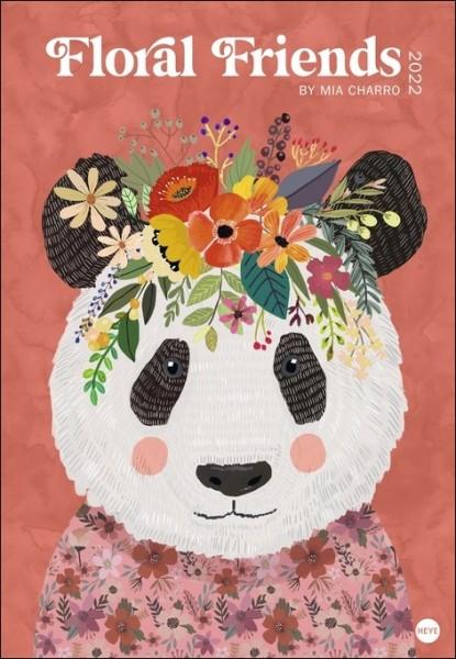 Floral Friends - Posterkalender 2022