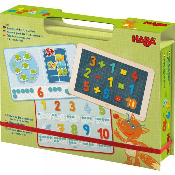 Magnetspiel-Box 1, 2, Zählerei