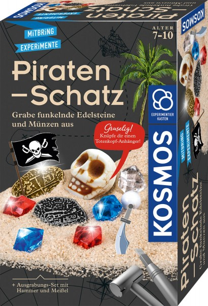 Piratenschatz - Ausgrabungs-Set