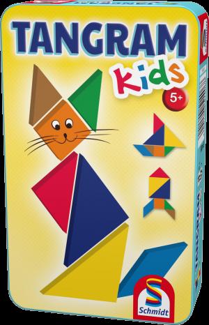 Tangram Kids, Bring-Mich-Mit-Spiel in Metalldose
