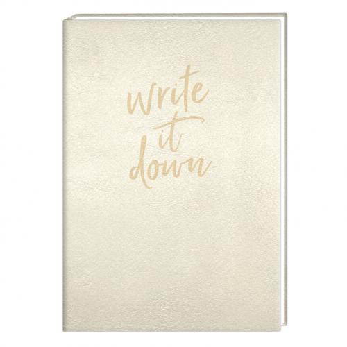 Premium-Notizbuch A5 Schreibkram Manufaktur Write it down