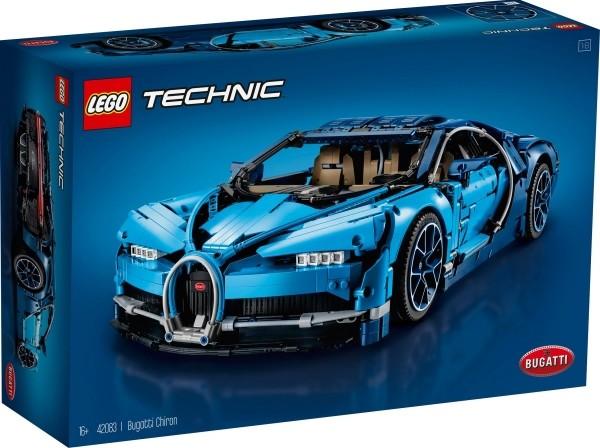 LEGO® Technic 42083 Bugatti Chiron, 3599 Teile