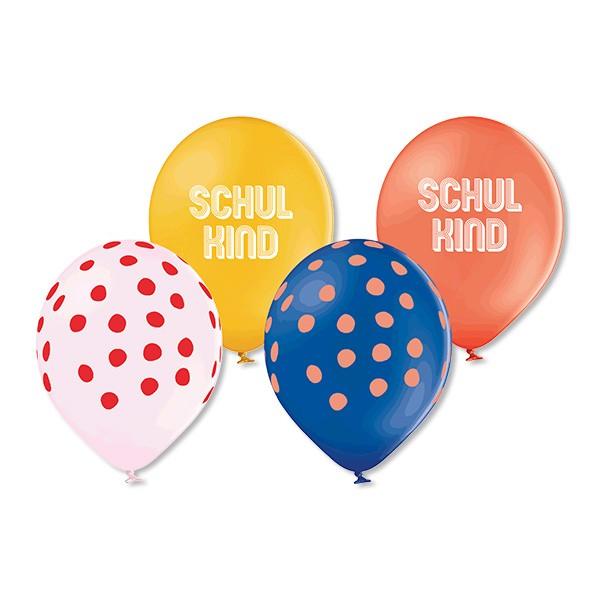 Ballons Schulkind aus 100% Naturkautschuk