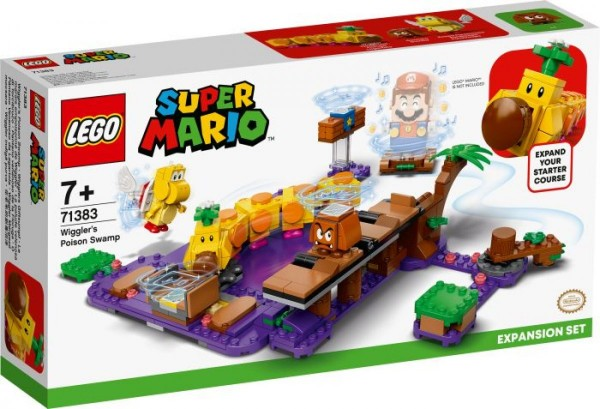 LEGO® Super Mario 71383 Wigglers Giftsumpf Erweiterungsset