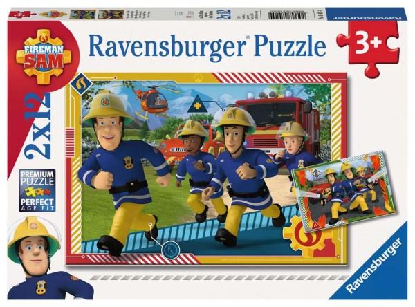 Puzzle Sam und sein Team (2x12 Teile)