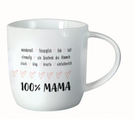 Tasse Gute Laune 100% Mama