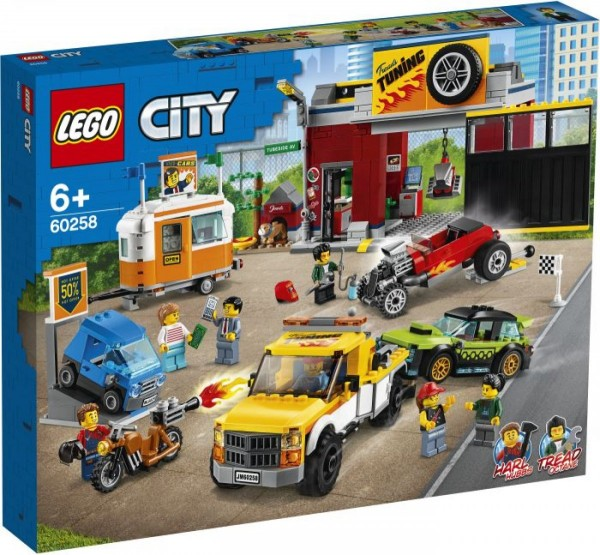LEGO® City 60258 Tuning-Werkstatt