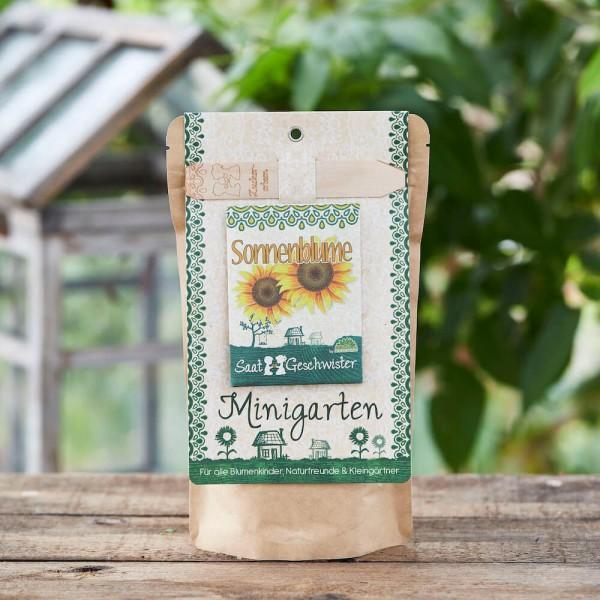 Minigarten Sonnenblumen