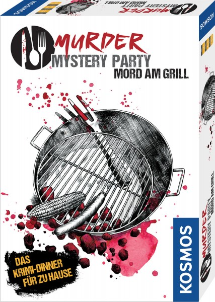 Murder Mystery Party - Mord am Grill - Das Krimi-Dinner für zu Hause