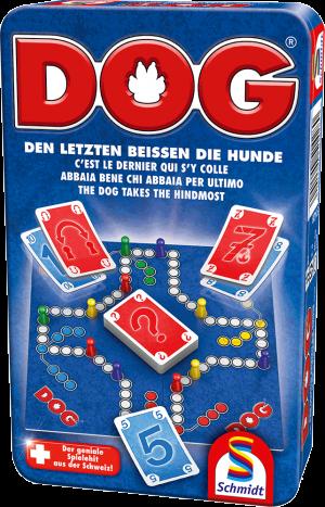 DOG®, Bring-Mich-Mit-Spiel in Metalldose