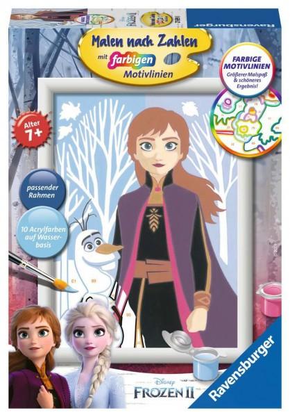 Malen nach Zahlen - Disney Frozen 2 Anna und Elsa