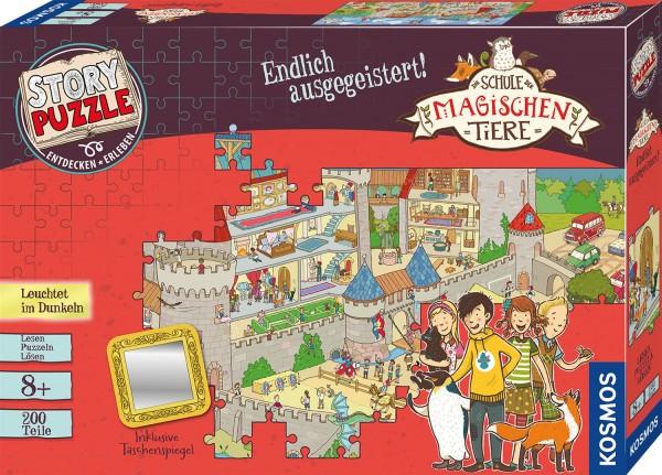 Story Puzzle: Die Schule der magischen Tiere - Endlich ausgegeistert!