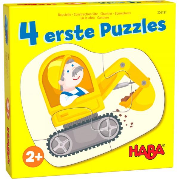 4 erste Puzzle Baustelle