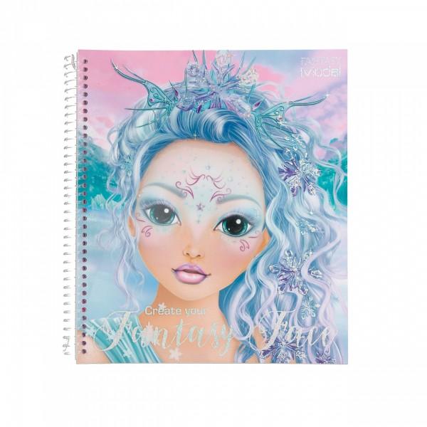 Create your Fantasy Face - Malbuch