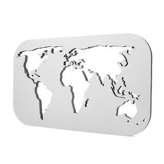 NOGALLERY Weltkarte - grau