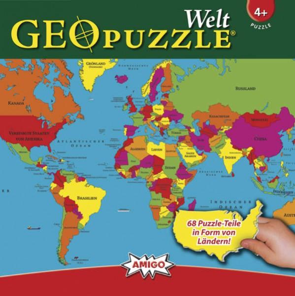 GeoPuzzle - Welt