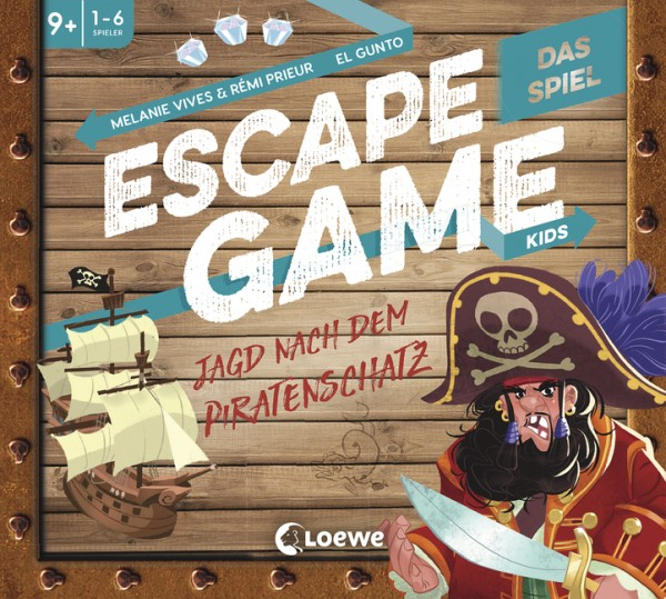 Escape Game Kids - Das Spiel - Jagd nach dem Piratenschatz