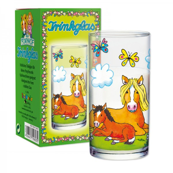 Trinkglas Mein Ponyhof