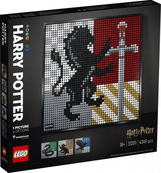 LEGO® ART 31201 Harry Potter Hogwarts Wappen