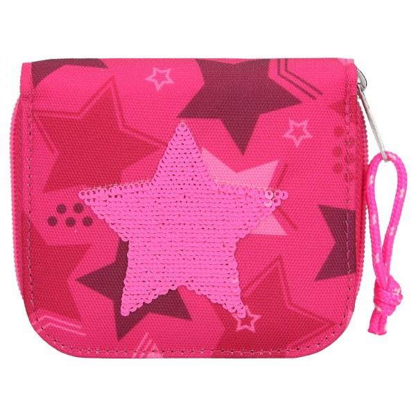 TOPModel Portemonnaie Streichpaillette Stern pink