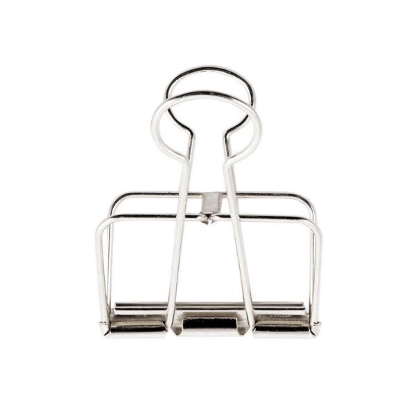 Wire Clips silber 32mm
