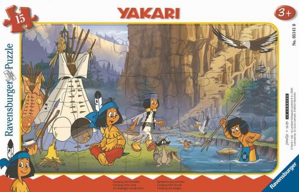 Yakari Camping mit Freunden (15 Teile)