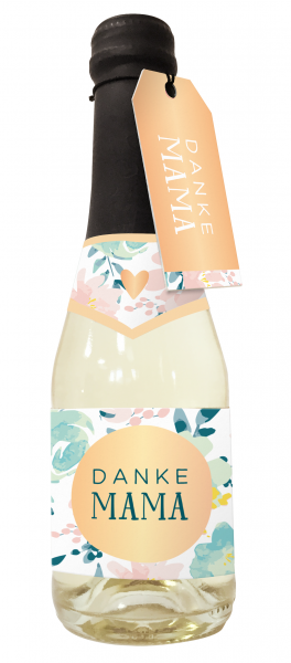 Beerenperlwein-Flasche 0,2l Danke Mama